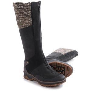 Merrell eventyr black zipper insulated cuff boot